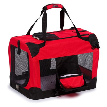 (Folding Deluxe 360° Vista View House Pet Crate)