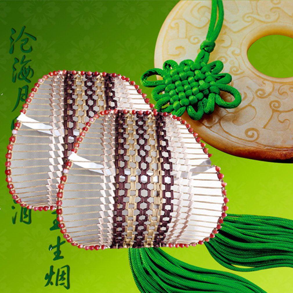 LESHP Handmade Car Seat Beads Cushion Lumbar Back Massage Waist Support Pillow