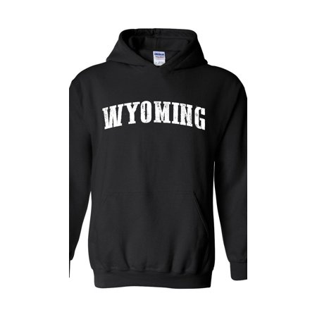 Wyoming State Flag Unisex Hoodie Hooded Sweatshirt