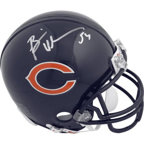 NFL - Brian Urlacher Chicago Bears Autographed Riddell Mini Helmet