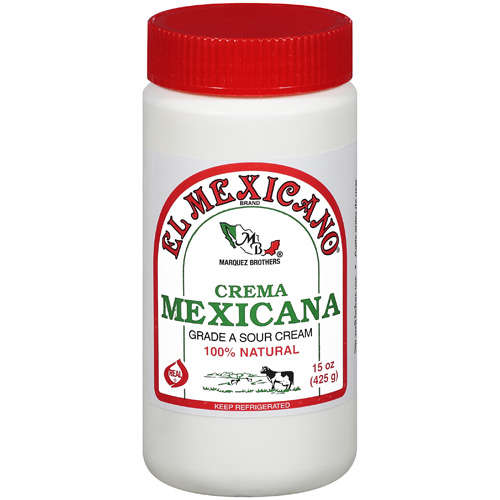 El Mexicano Crema Mexicana Sour Cream, 15 oz