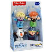 Fisher Price DP Little People Disney Frozen 4 pack Figures