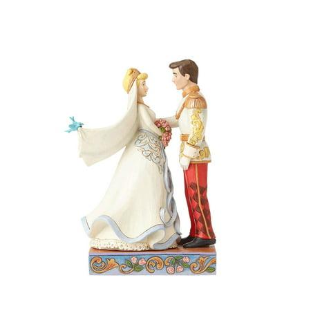 Jim Shore Disney Cinderella & Prince Wedding 4056748 New 2017 (Disney Pins Halloween 2017)