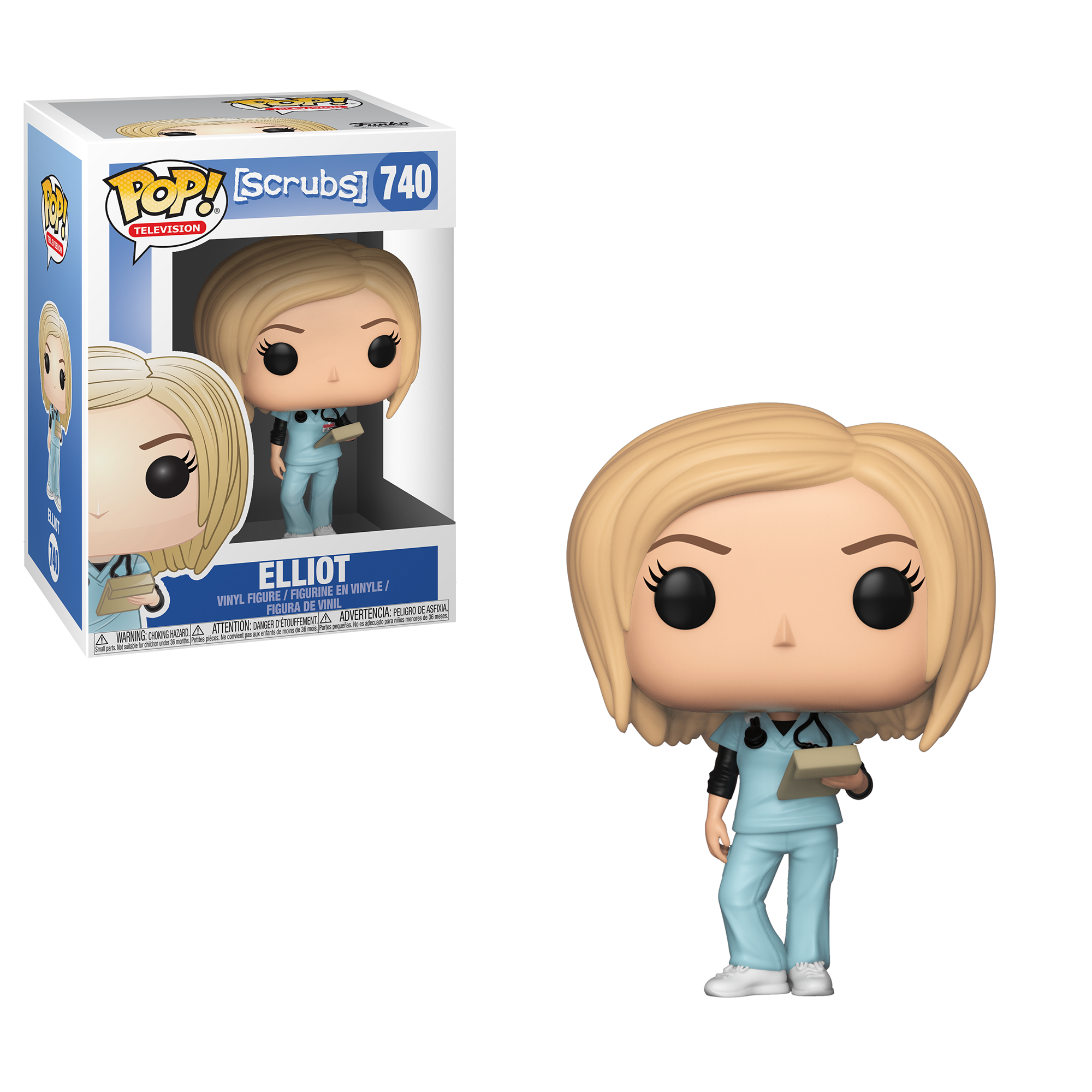 Funko POP! TV: Scrubs - Elliot