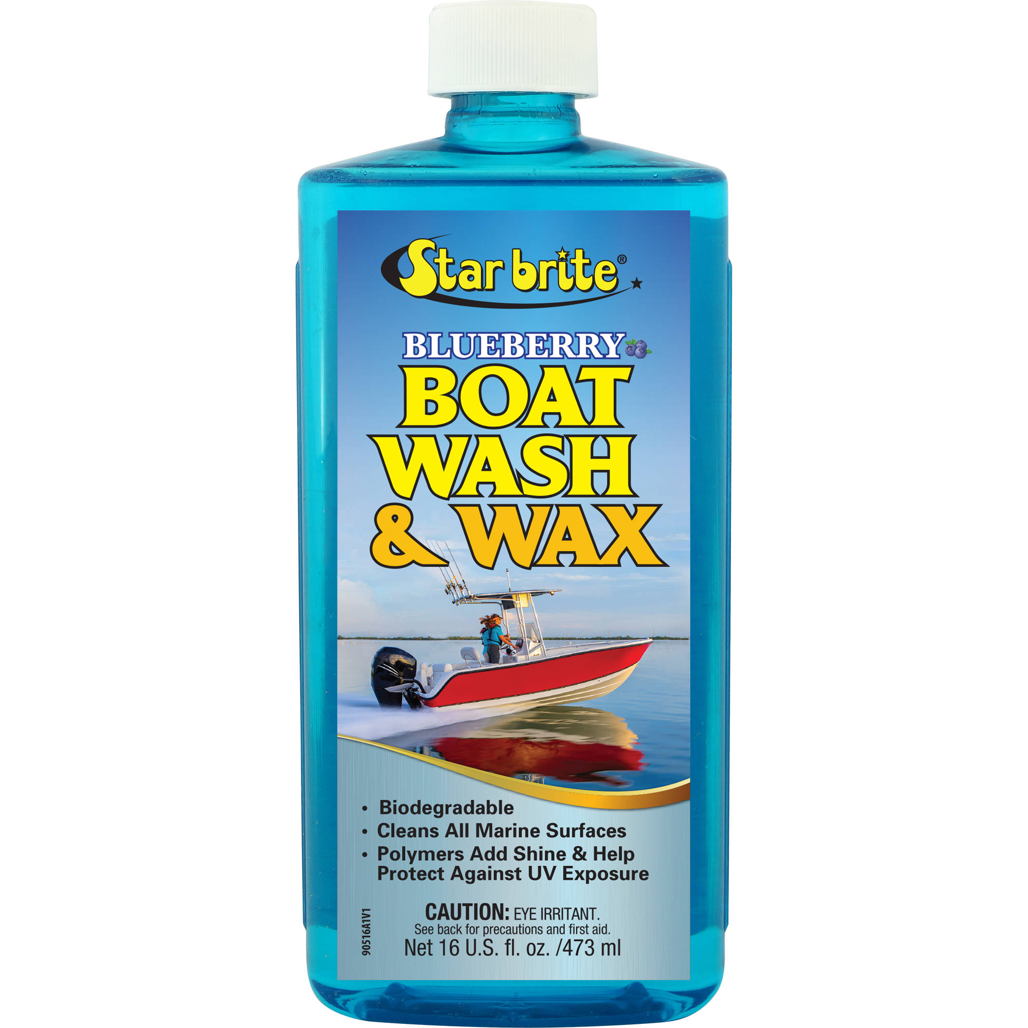 Star Brite Blueberry Boat Wash and Wax, 16 oz