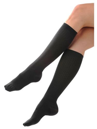 Women's Trouser Socks Navy 8-15 mmHg - Large