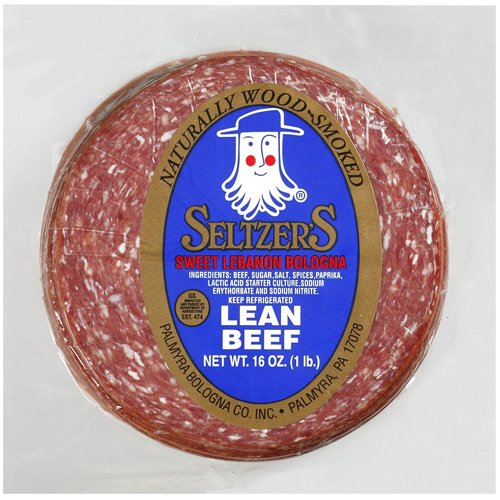 Seltzer's Sweet with Lean Beef Lebanon Bologna, 16 oz