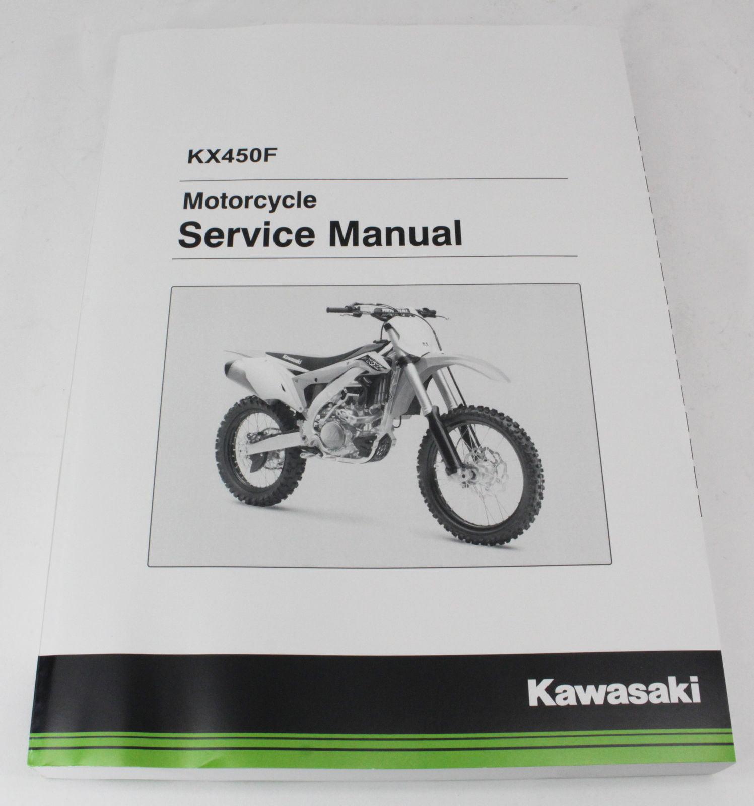 Kawasaki 2016-2018 Kx450f Kx450h Service Manual 99924-1502-03 New Oem -  Walmart.com