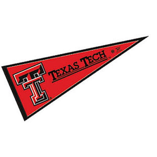 "Texas Tech Red Raiders 12"" X 30"" Felt College Pennant"