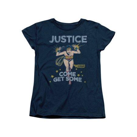 Wonder Woman DC Comics Superhero Come Get Some Women's T-Shirt Tee