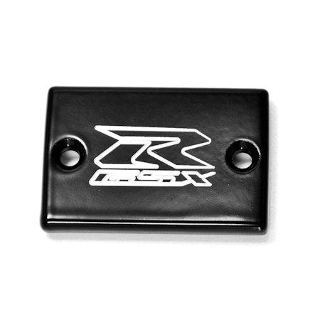 Motorcycle Fluid Black Reservoir Cap Logo Engraved For 1992-2005 Suzuki GSXR 600 - image 2 de 2