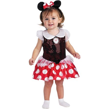 Minnie Mouse Infant Halloween Costume](Minnie Mouse Toddler Costume 3t)