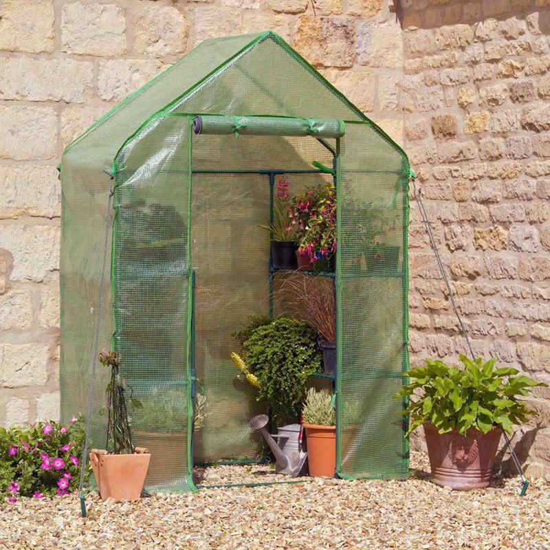 Compact Walk-In Greenhouse by Gardman USA Inc