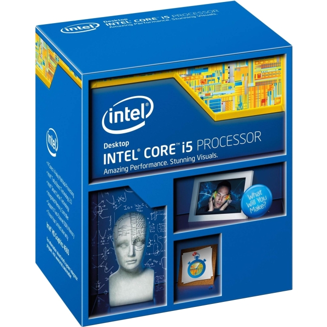 Intel Core i5 i5-5675C Quad-core (4 Core) 3.10 GHz Processor - Socket H3 LGA-1150Retail Pack - 1 MB - 4 MB Cache - 5 GT/s DMI - 64-bit Processing - 3.60 GHz Overclocking Speed - 14 nm - 3 Number of Mo
