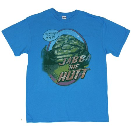 Star Wars Mens T-Shirt - Jabba The Hut