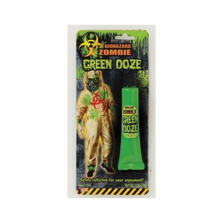 BIOHAZARD ZOMBIE GREEN OOZE](Awesome Halloween Makeup Tutorials)