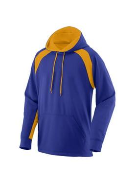 5527 Fanatic Hooded Sweatshirt PURPLE/GOLD L