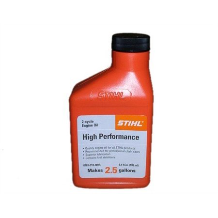 STIHL 0781 319 8009 6.4 Ounce High Performance 2 Cycle Engine Oil, 6 Pack 2 Cycle High Performance Oil