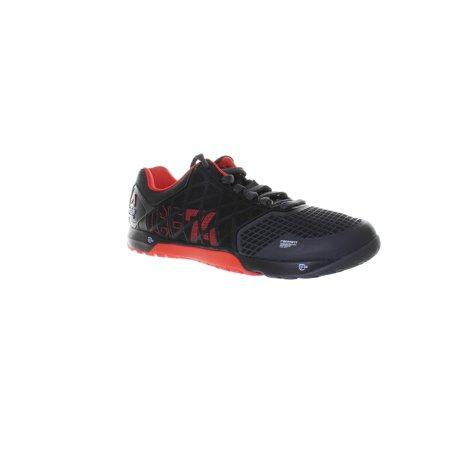 Reebok Mens Crossfit Nano Black Cross Training Shoes Size