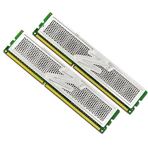 OCZ Platinum Dual Channel Kit - DDR3 - 4 GB: 2 x 2 GB - DIMM 240-pin - 1333 MHz / PC3-10666 - CL7 - 1.65 V - unbuffered - non-ECC
