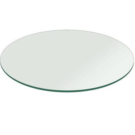 Glass table top 27 round 1 4 thick flat polish for 13 inch round glass table top