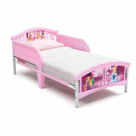 Disney Princess Plastic Toddler Bed - Walmart.com