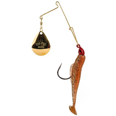 Strike King Redfish Magic Saltwater Spinnerbait 1/8 oz. New Penny (Magic Penny)