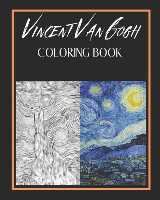 - Vincent Van Gogh Coloring Book - Walmart.com - Walmart.com