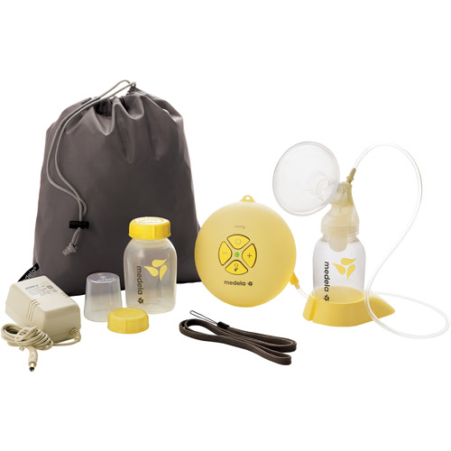 Medela - Swing Breastpump w/Your Choice of Easy Expression Bustier Bundle (Available Sizes: M & L)