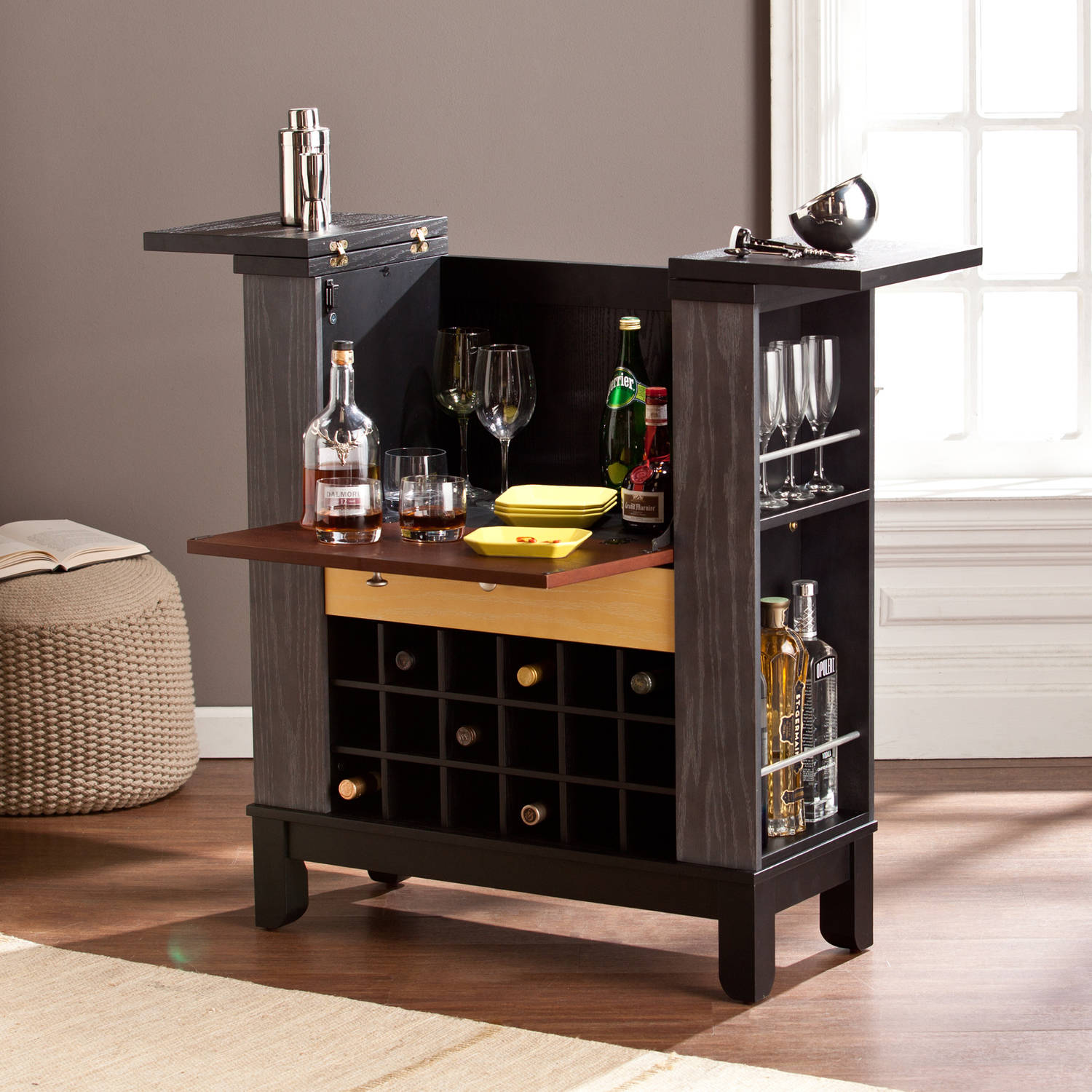 Modern Home Bar Furniture Best 25 Corner Wine Rack Ideas On Pinterest Corner Bar Cabin