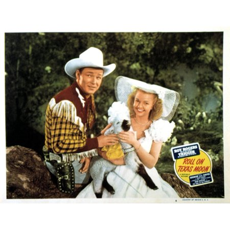 Roll On Texas Moon Roy Rogers Dale Evans 1946 Movie Poster Masterprint