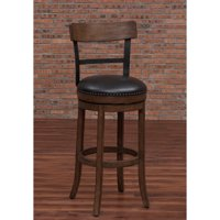 American Woodcrafters Taranto Swivel Bar Stool