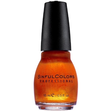 Sinfulcolors Nail Polish  Courtney Orange  0 5 Fl Oz