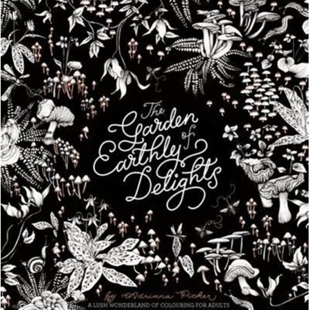 Garden of Earthly Delights:an Exotic Colouring Book for Grown Ups (Colouring Books) (Paperback)](Fun Toys For Grown Ups)