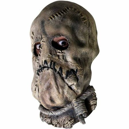 Batman Dark Knight Scarecrow Mask Adult Halloween Accessory - V Halloween Mask
