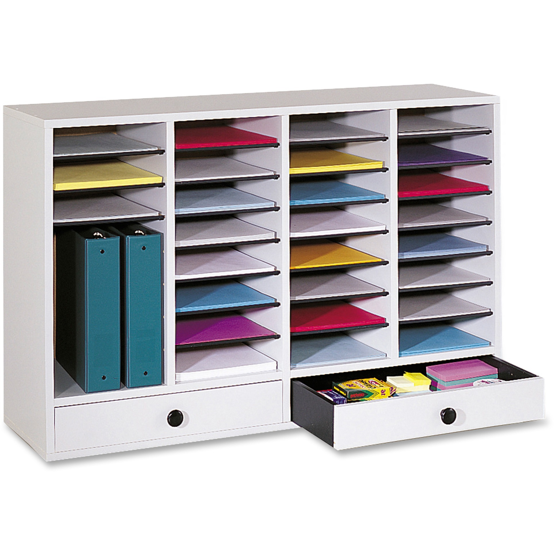 Safco Adjustable Compartment Literature Organizers by Safco Products