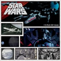 Deals on 2021 Star Wars Wall Calendar Calendar