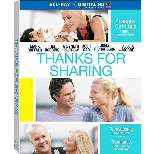 Thanks For Sharing (Blu-ray   Digital HD) (With INSTAWATCH) (Widescreen)