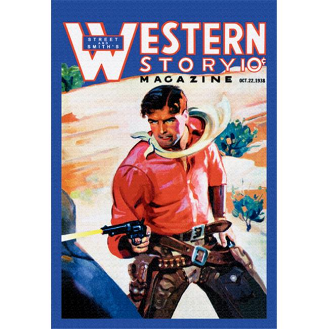 Buy Enlarge 0-587-10662-xP20x30 Western Story Magazine- Western Business- Paper Size P20x30