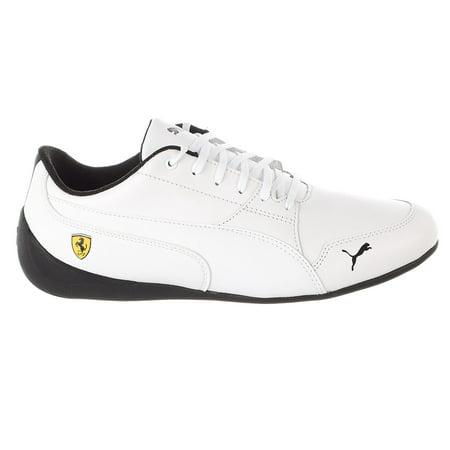 Puma Ferrari Drift Cat Sneaker - Puma White-puma White - Mens - 9
