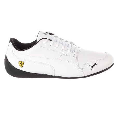 Nike Adidas Puma Shoes - Puma Ferrari Drift Cat Sneaker - Puma White-puma White - Mens - 9