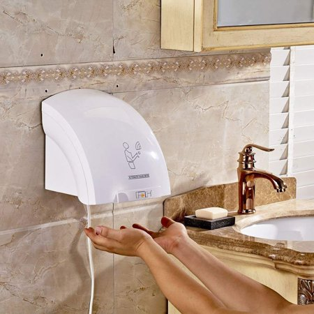 Ktaxon Automatic Infared Sensor Hand Dryer, Hands Drying Device, for Bathroom Household Hotel Commercial Use ()