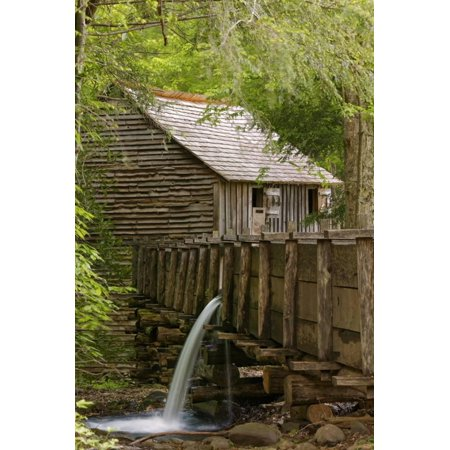 Cable Mill, Cades Cove, Great Smoky Mountains National Park, Tennessee Print Wall Art By Adam Jones