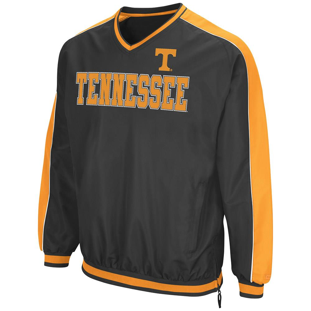 Mens Tennessee Volunteers Attack Line Wind Breaker Jacket by Colosseum