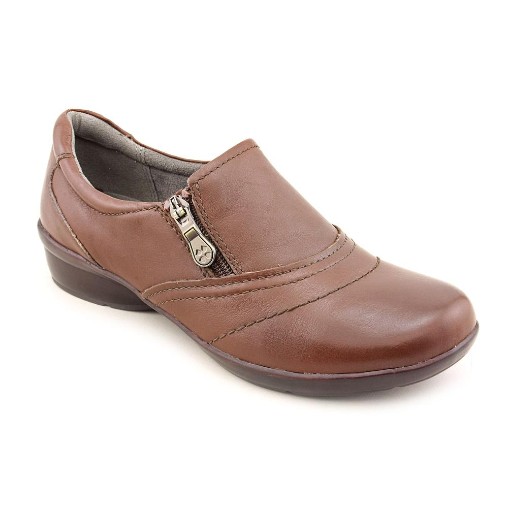 Naturalizer Clarissa Women Round Toe Leather Brown Loafer by Naturalizer