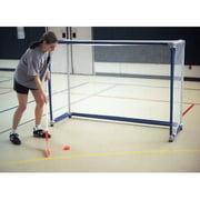 Economy 4 x 6 ft. Floor Street/Roller Hockey Goals with Nets - Set of 2