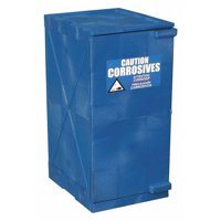 EAGLE M12CRA Corrosive Safety Cabinet, 18in.W, Blue