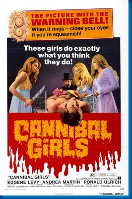 Cannibal Girls Movie Poster by