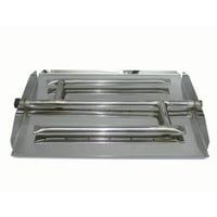 Tretco Stainless Steel Triple Xtra Flame Burner Pan