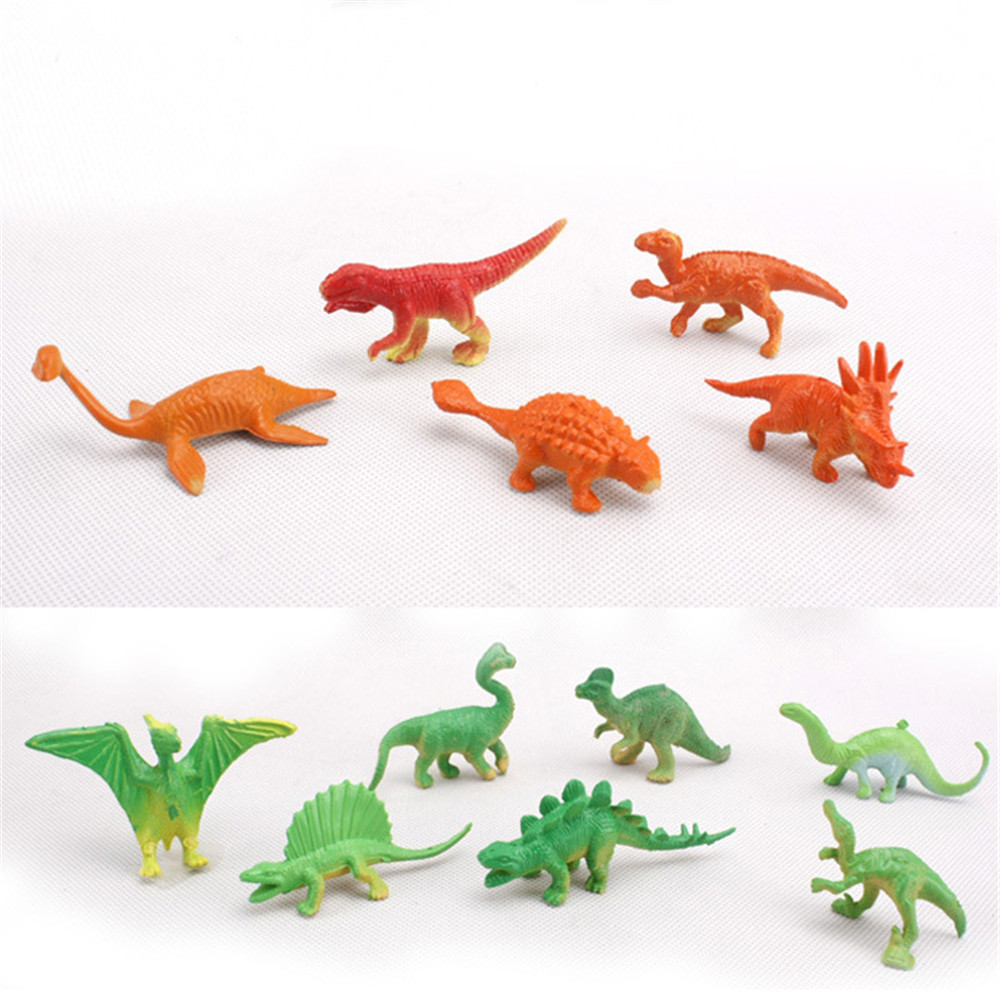 Womail 22 Pcs Farm Dinosaur model Figures Animal Action Toys Set Kids Education Toy